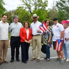 Mayor Jacobs for the Puerto Rican Parade
