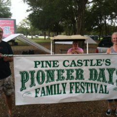 Pioneer Days Festival banner