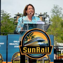 Mayor Jacobs speaking on SunRail