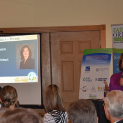 Mayor Jacobs presenting district updates