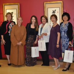 Mayor Jacobs with personnel celebrating Asian culture