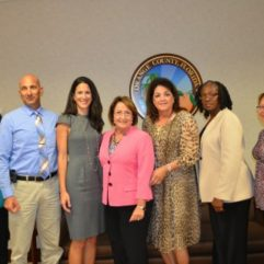 Mayor Jacobs with Advisroy Boards personnel