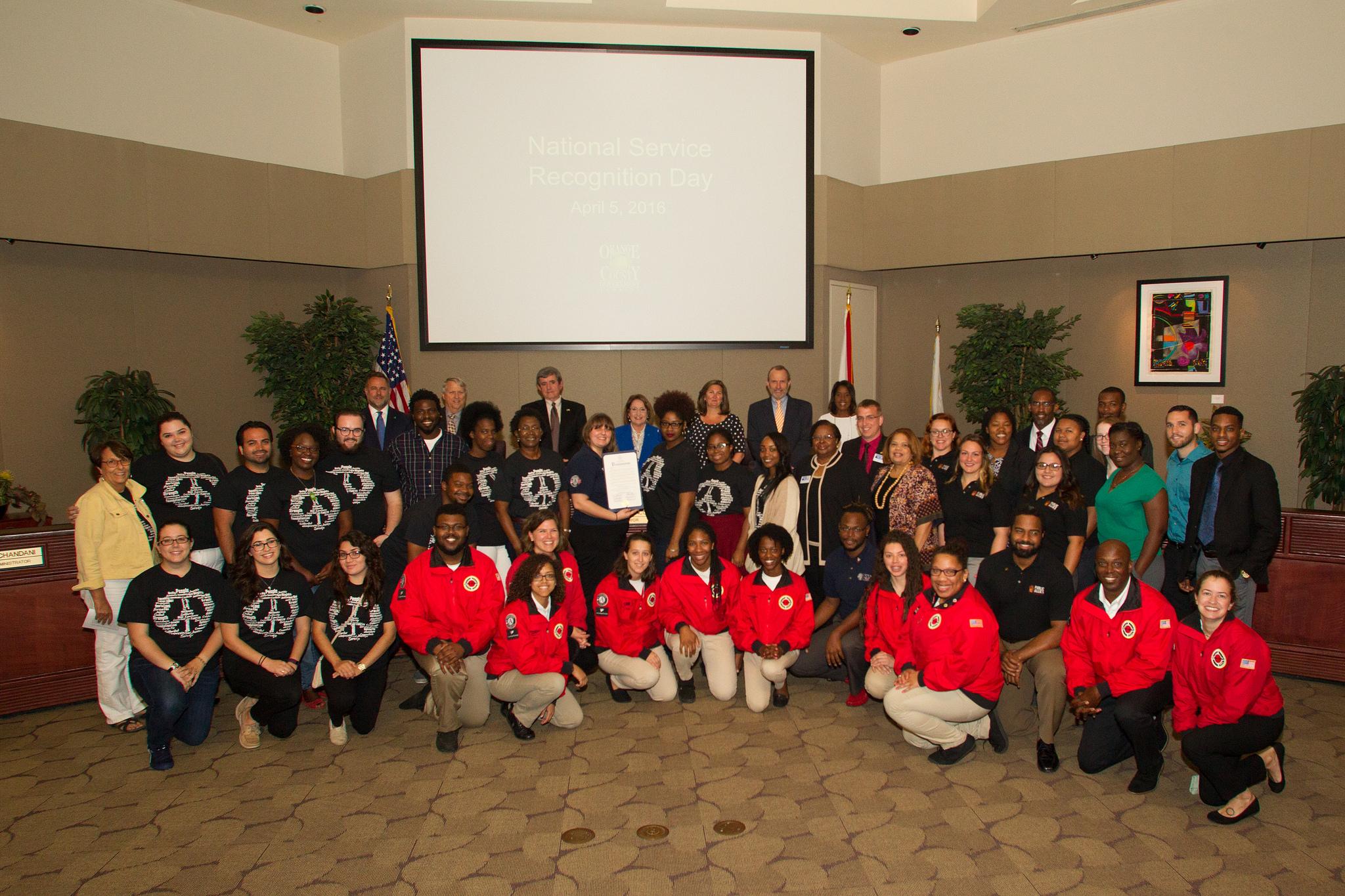 BCC with AmeriCorps employees
