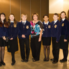 Mayor Jacobs with Future Farmers of America students