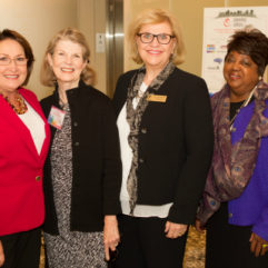 Mayor Jacobs and personnel at Arts Conference Showcase
