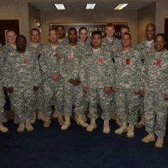 Military Personnel visit the OC Jail