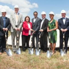 Groundbreaking for USTA