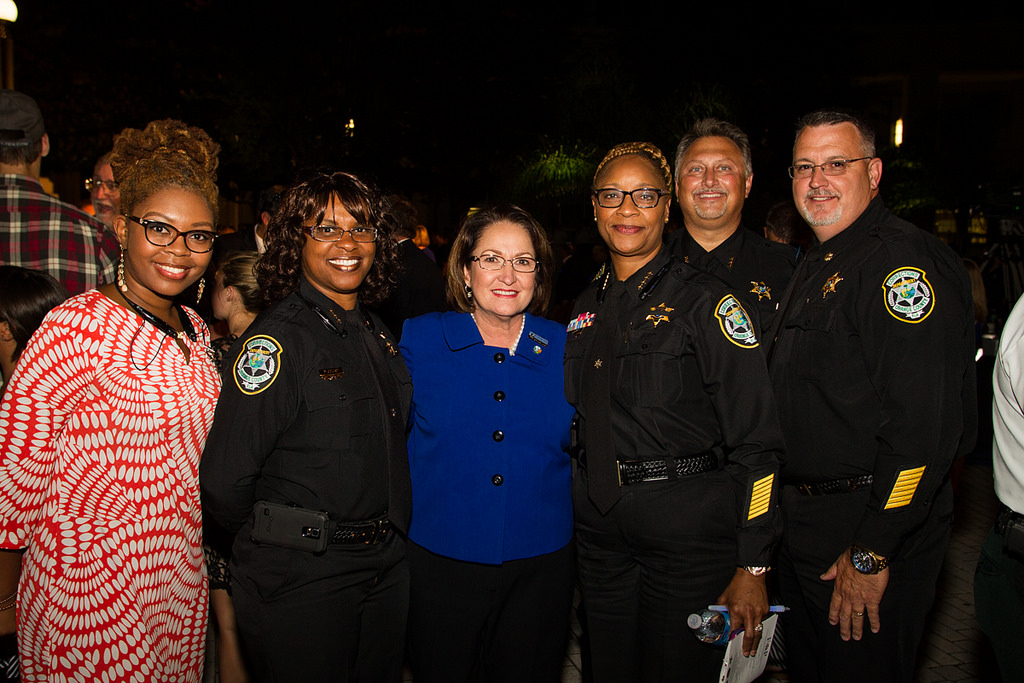 Mayor Jacobs with OC Law Enforcement