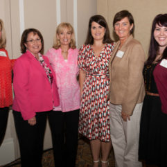 Mayor Jacobs with Women's Conference attendees
