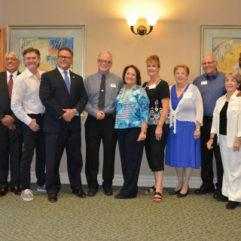 Mayor Jacobs with Hunter's Creek Community Association