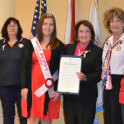 Mayor Jacobs and personnel honor Memorial Poppy Day