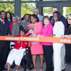 Ribbon cutting for Holden Heights Community Center