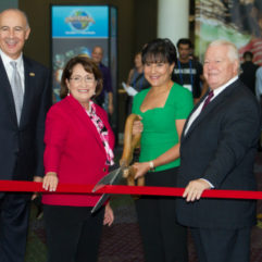 Ribbon Cutting for Global Travel Conference