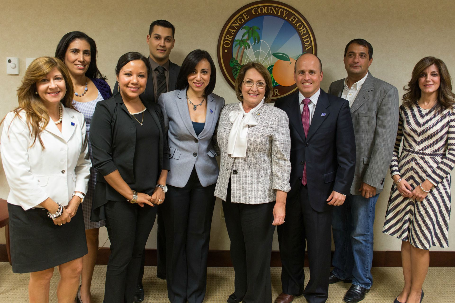Mayor Jacobs with Central Florida Chambers of Commerce