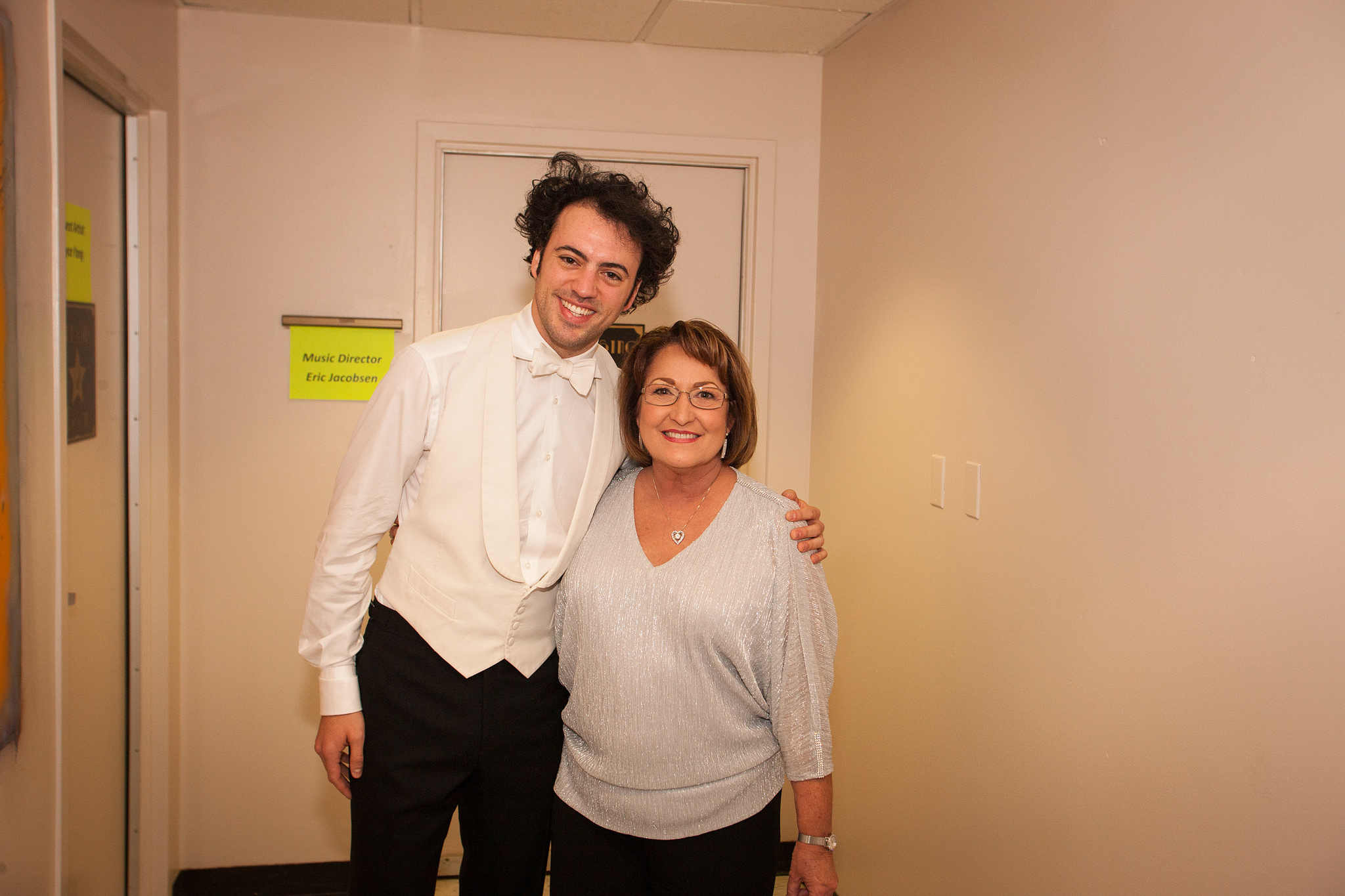 Mayor Jacobs with Orlando Philharmonic Music Director