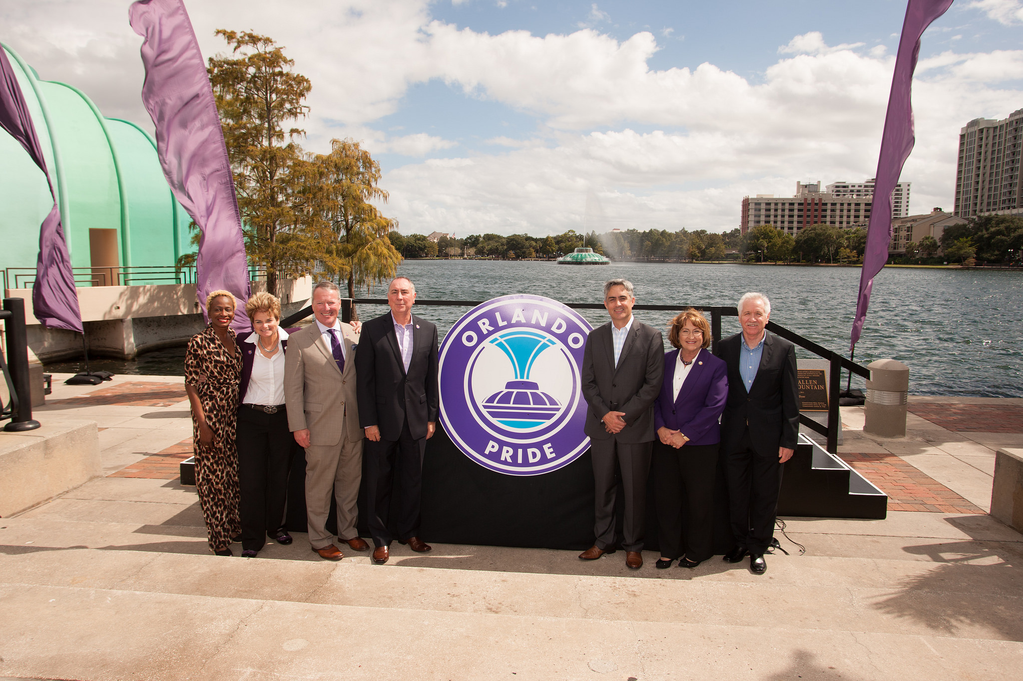 OC and City of Orlando at Lake Eola