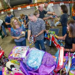 Couples Transform into Holiday Heroes for Orange County's Toy Drive