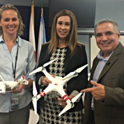 Orange County Highlights Drone Safety at  Eye in the Sky Communicators Meeting