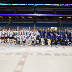 Orange County Fire Rescue Participates in Charity Hockey Game