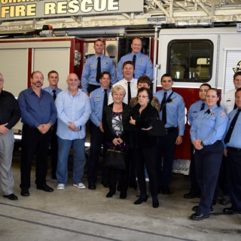 Orange County Fire Rescue's New Rescue Unit Dedicated to Fallen Firefighter