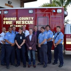 Orange County Fire Rescue Continues Partnership with International Paramedic Students
