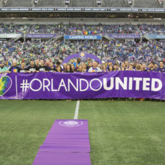 Central Florida Sports Teams Respond to  Pulse Tragedy by Standing #OrlandoUnited