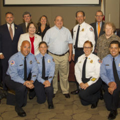Orange County's Board of County Commissioners Recognizes Chef Robert Scambia for Serving Firefighters