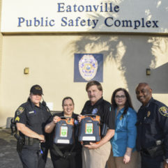 Town of Eatonville Police Department Receives Life Saving Tools from  Orange County Emergency Medical Services