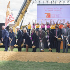 Groundbreaking for DPC expansion