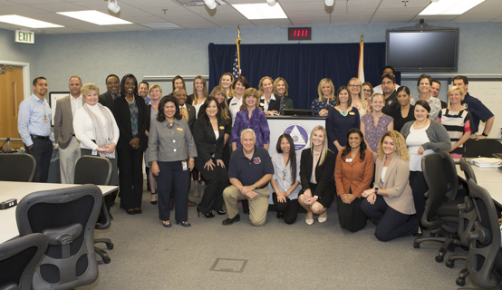 OCFL employees for emergency preparedness