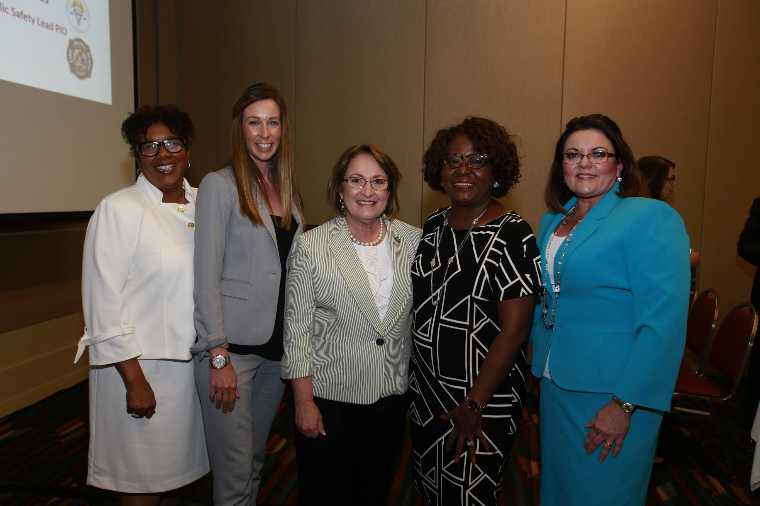 Mayor Jacobs and four individuals at Florida Association of Counties Conference