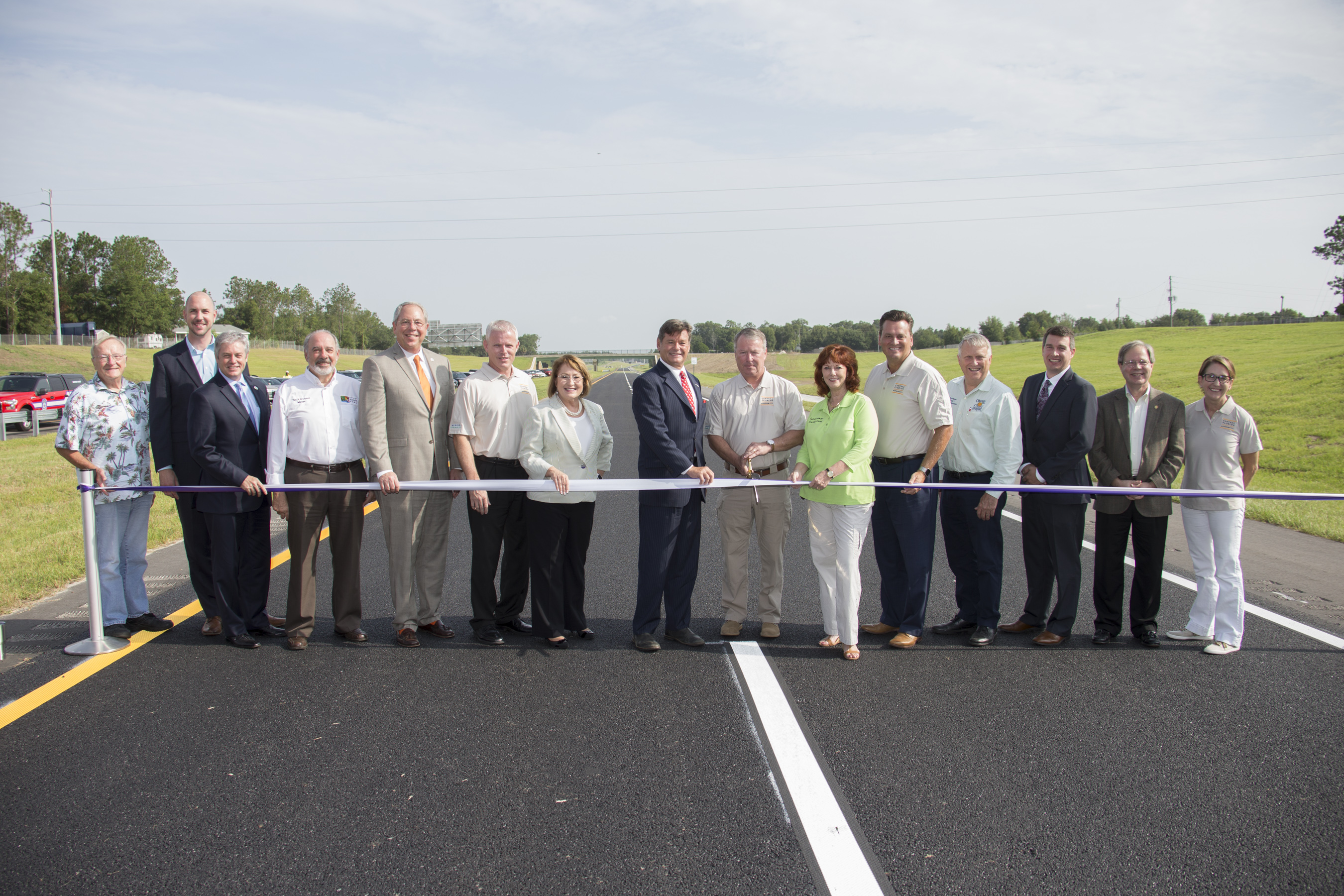 Ribbon cutting for Wekiva Parkway
