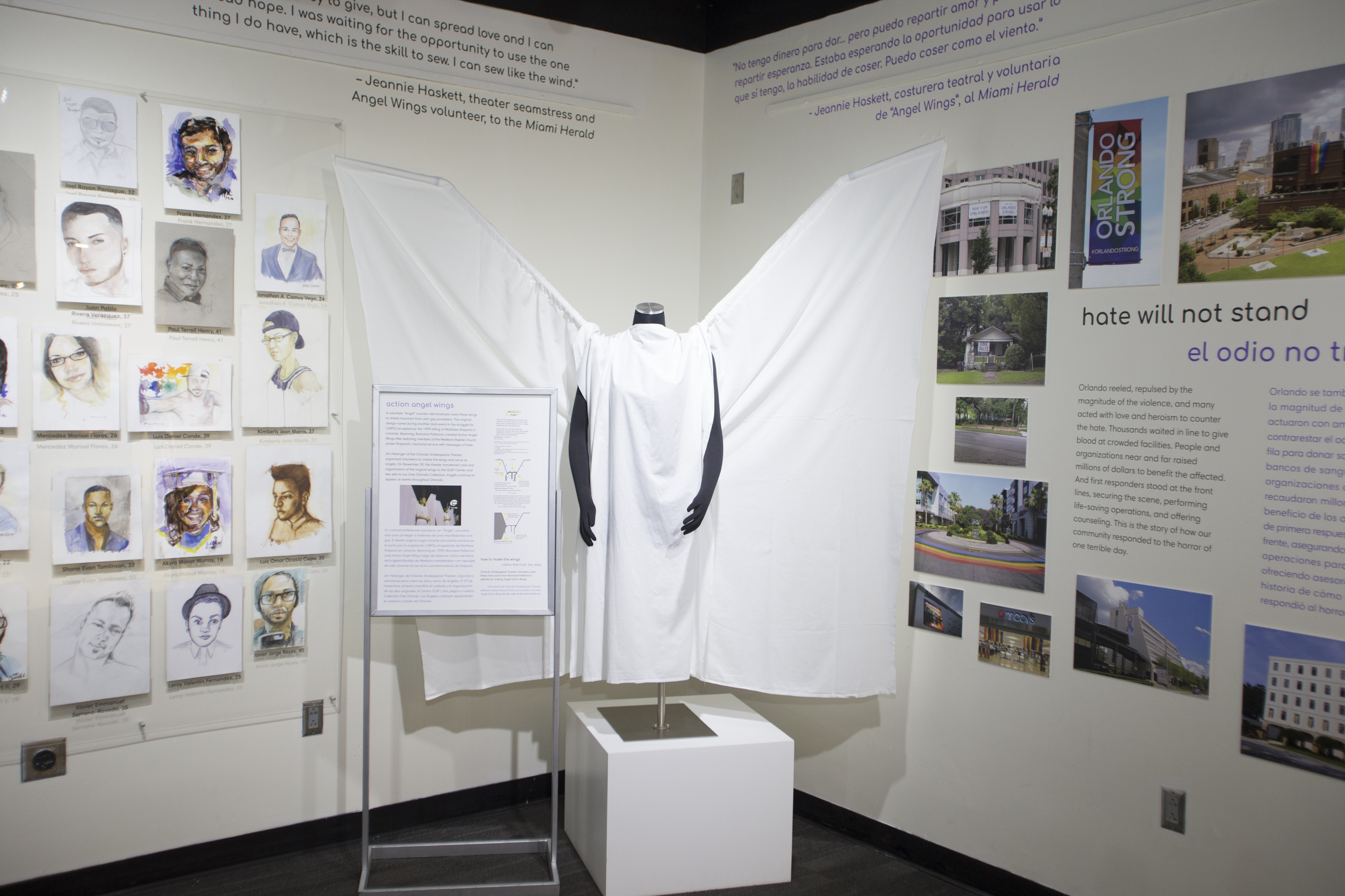 History Center Pulse memorial exhibit