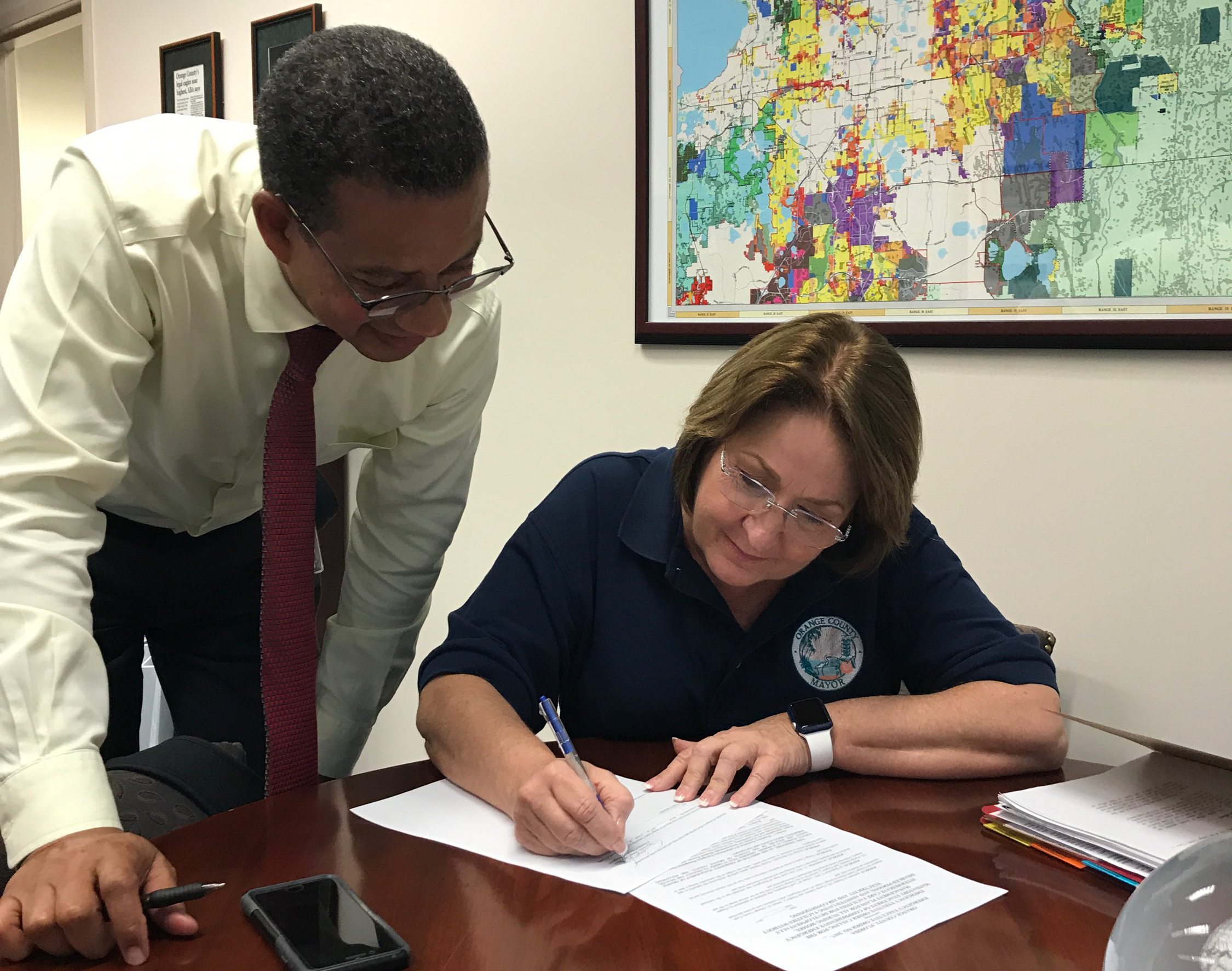 Mayor Jacobs signs emergency executive order