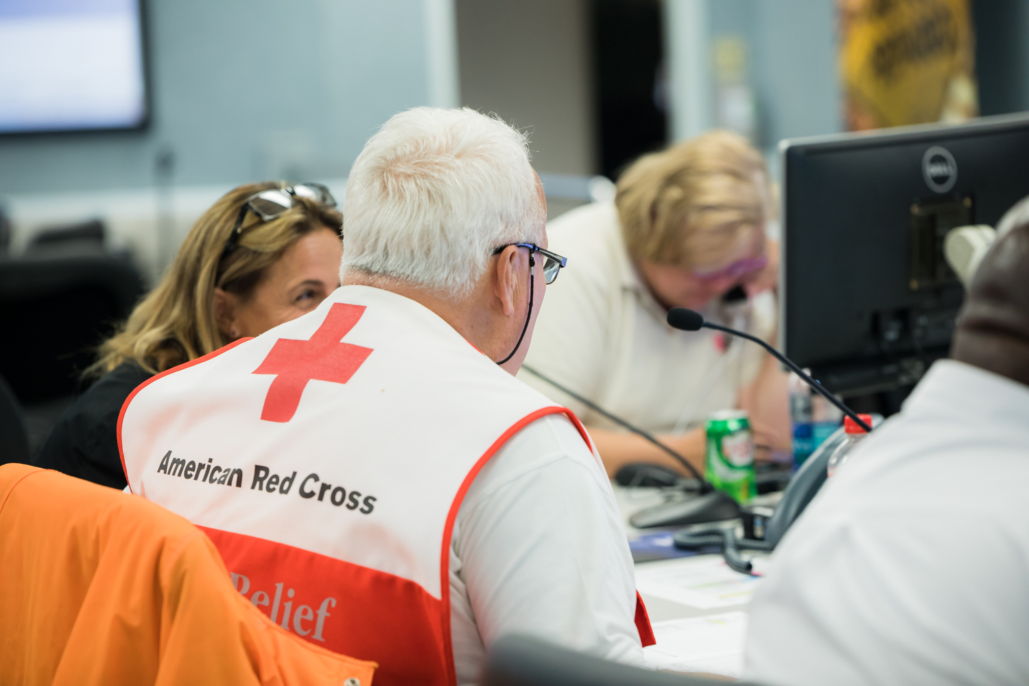 American Red Cross personnel
