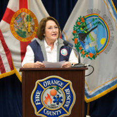 Mayor Jacobs at emergency management press briefing