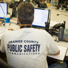 Orange County Public Safety employee