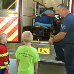 Open House Day for Fire Prevention Week