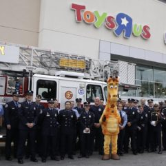 Orange County Fire Rescue at Toys R Us