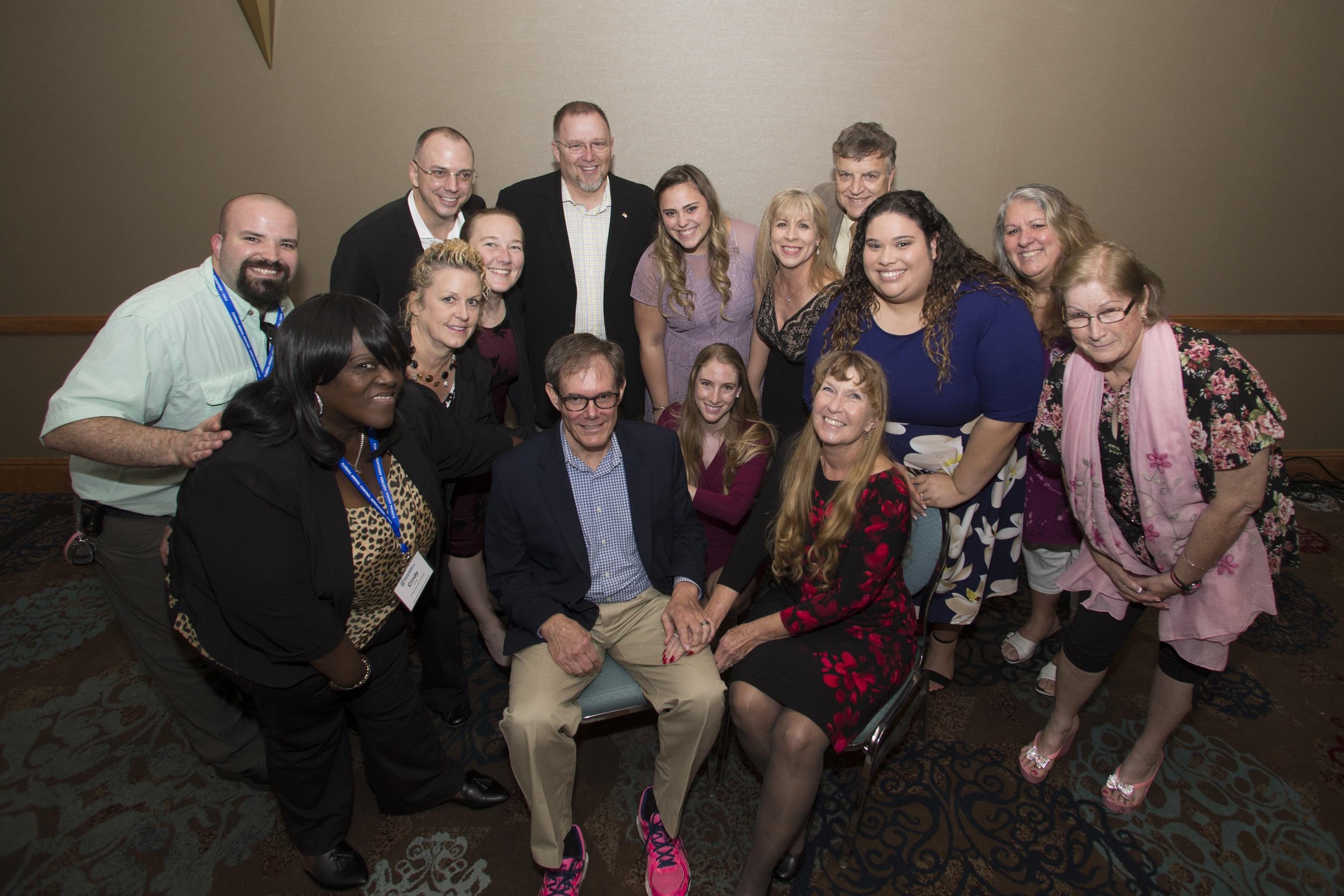Empleados de OCAS en la Conferencia de la Asociación para el Control de Animales de la Florida