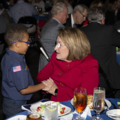 Orange County Mayor Teresa Jacobs Celebrates Central Florida Scouts at Golden Eagle Dinner