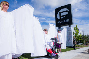 The Pulse Angels standing