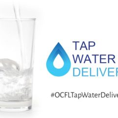 Tap water delivers