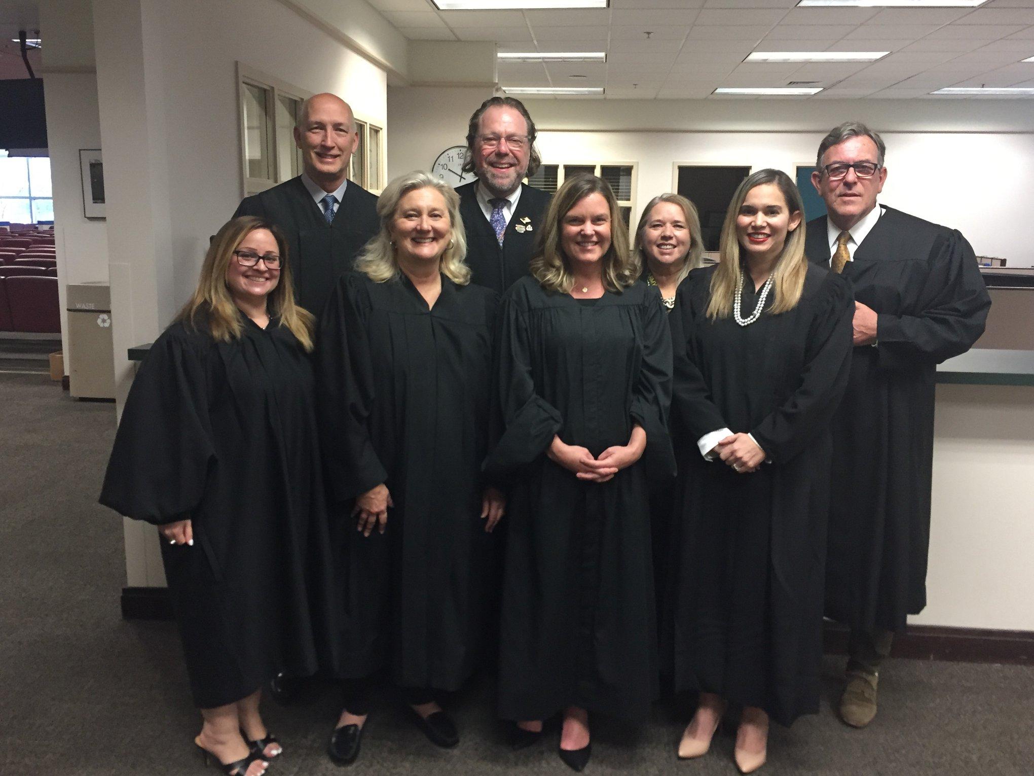 Jueces delCircuito Judicial Noveno