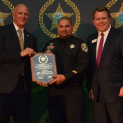 Orange County Master Corrections Officer Geovanie Hernandez has been selected as the 2020 Corrections Officer of the Year
