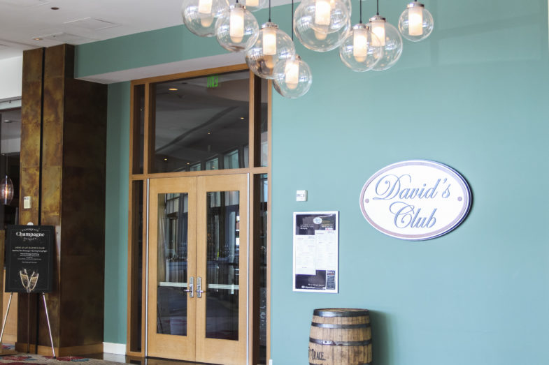 Photo of exterior of David's Club