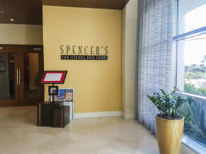 Ingreso al restaurante Spencer's