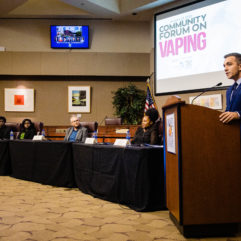 Forum on Vaping Highlights Health Risks for Adolescents
