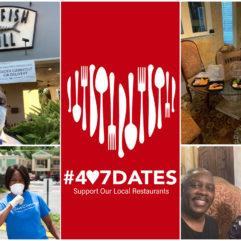 Hashtag 4-0-7 Dates: apoye a sus restaurantes locales