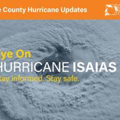 Eye on Hurricane Isaias